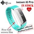 Original iwown i6 i6 pro iwownfit pro inteligente monitor de freqüência cardíaca pulseira pulseira de fitness rastreador ip67 inteligente para andriod 4.4