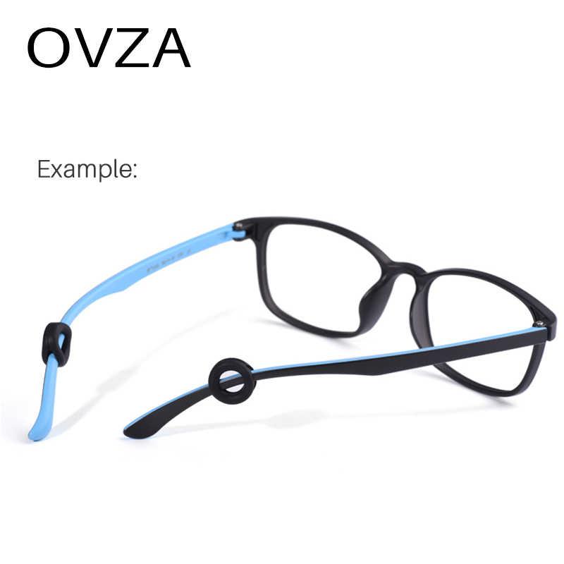 OVZA Nuovo Tipo Rotonda Del Silicone Anti-skid Occhiali Gamba Manica Copertura Anti-slip Ring Supporto Laterale di Decompressione Fisso contro di Goccia