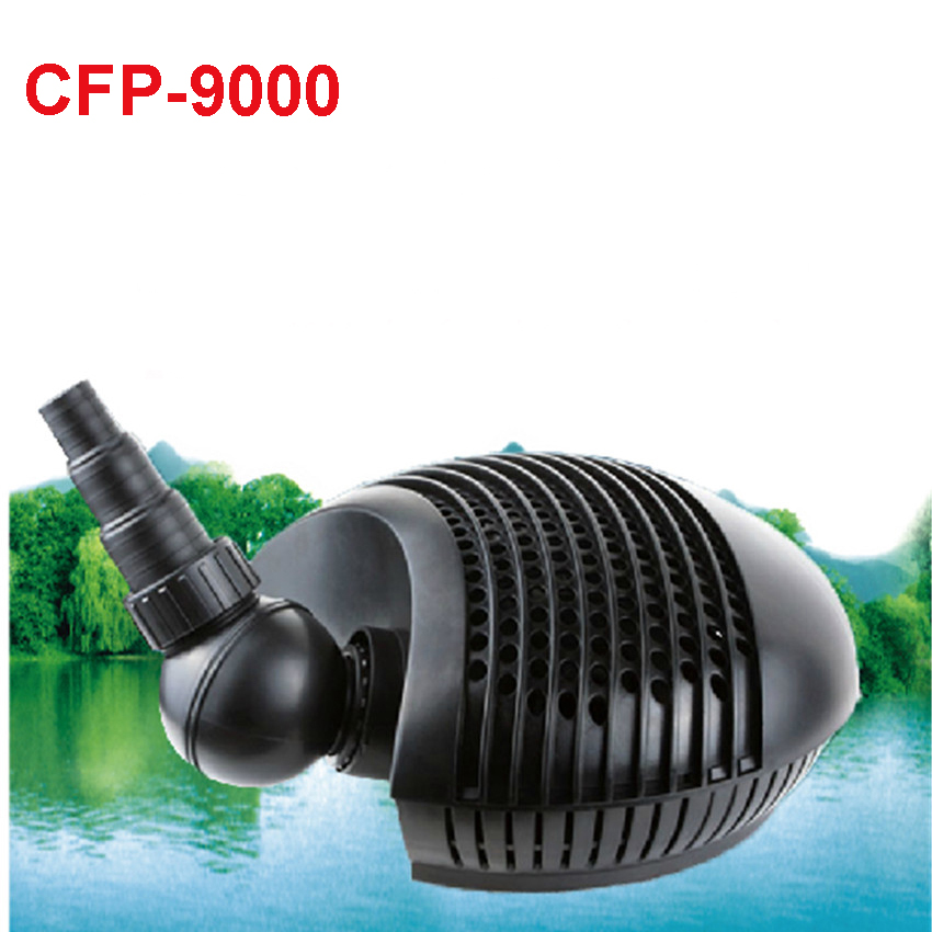 95 W CFP-9000 gardening pump submersible pond filter tank aquarium filter pump Pond water pump clb 4500 high quality plastic filter pump fish pond circulating water pump 220v electric submersible pump