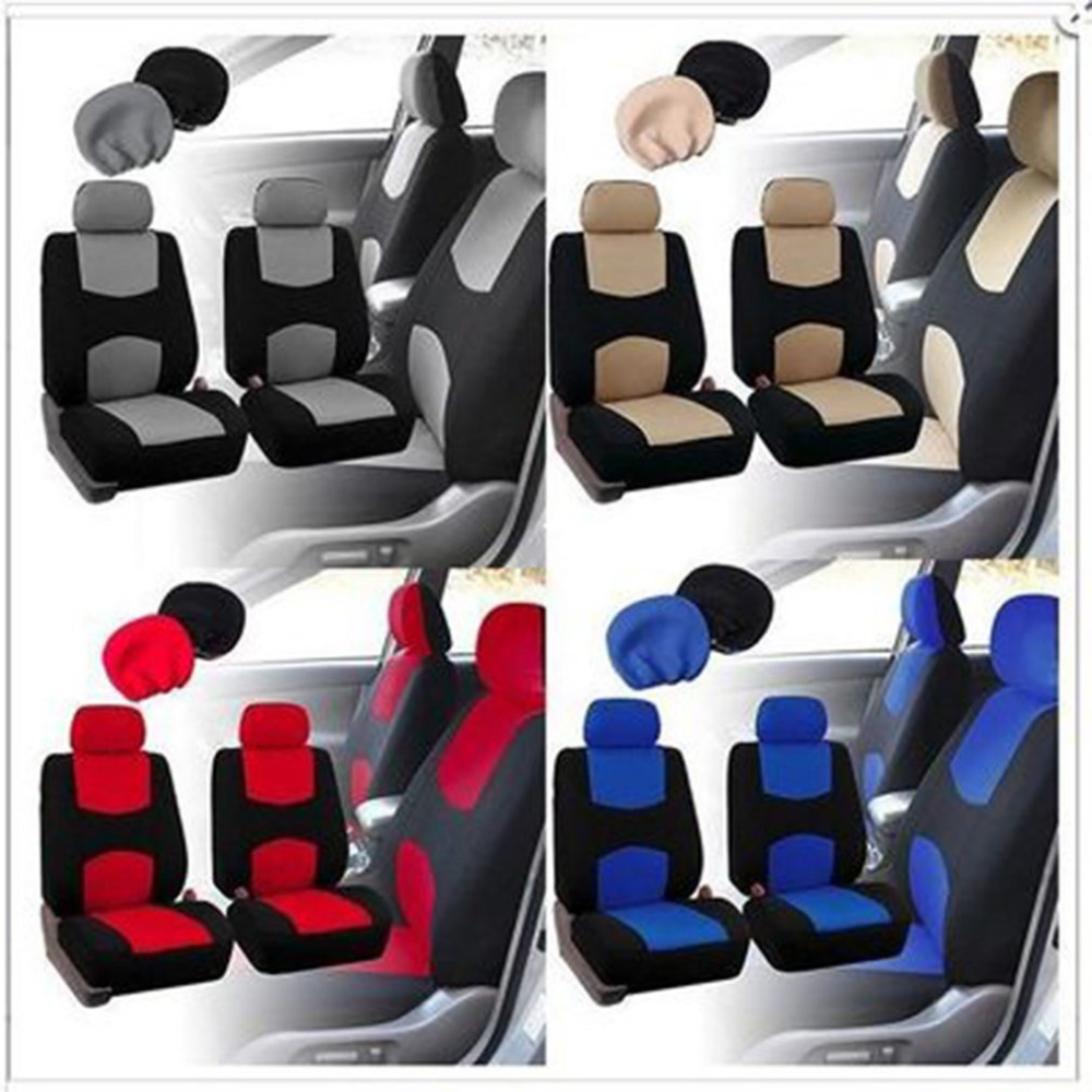Auto Universal Car Seat Covers Automotive Seat Covers Car Styling for VW for Toyota все цены