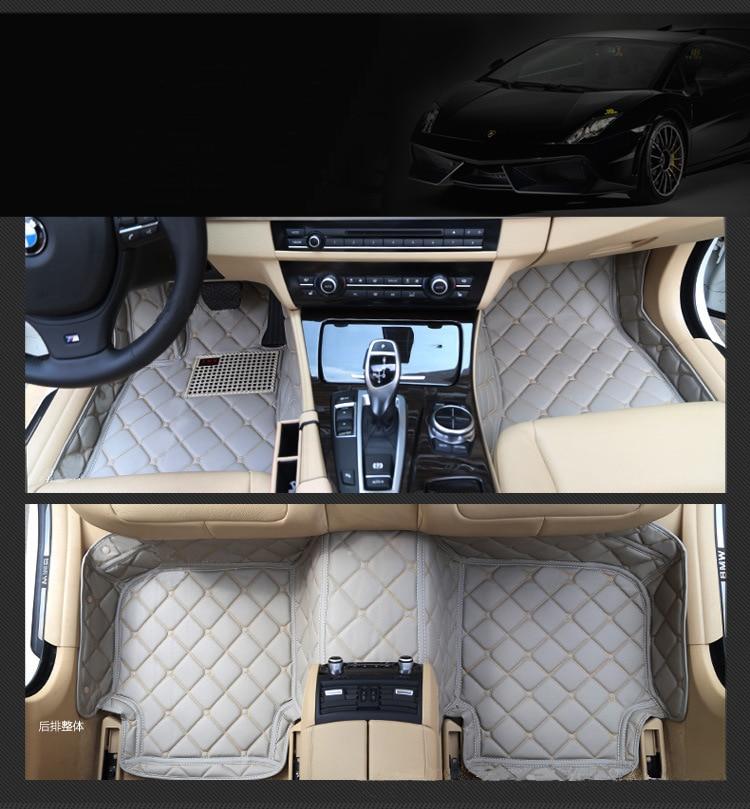 5 seat left steering wheel car floor mats for Hyundai genesis coupe IX35 I30 IX25 ELANTRA Tucson sonata Veloster no odor free shipping leather car floor mat carpet rug for hyundai ix25 creta only for left steering wheel car