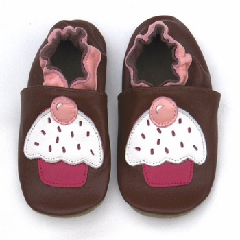 Guaranteed 100% soft soled Genuine Leather baby shoes1013 girl shoes for the new born kid infant leather