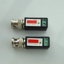 2pcs/Pair Cctv Twisted Bnc Passive Video Balun Transceiver Bnc Male Coax Cat5 Camera Utp Cable Coaxial Adapter For Cctv Camera