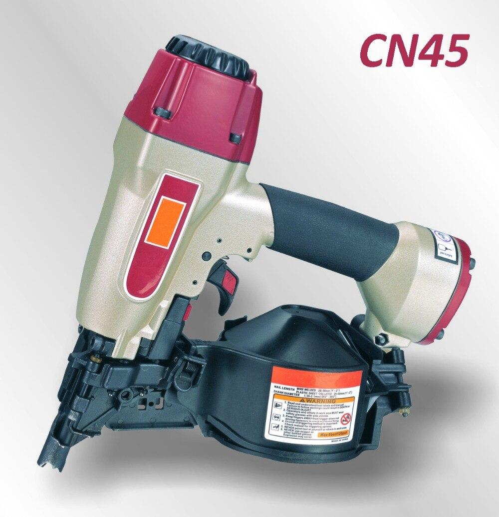 купить Pneumatic Construction Coil Nailer Gun CN45 (not include the customs tax) по цене 8703.68 рублей