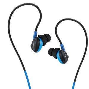 Image 3 - Fonge 방수 유선 이어폰 이어폰 이어폰 HIFI 스포츠베이스 헤드폰 갤럭시 s6 용 마이크 헤드셋 화웨이 스마트 폰 GT