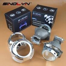 Car Styling HID Bi xenon 3.0 inches Projector Lens Headlight Retrofit Lenses Kit Q5, Use D1S D2S D2H D3S D4S Bulbs Super Bright