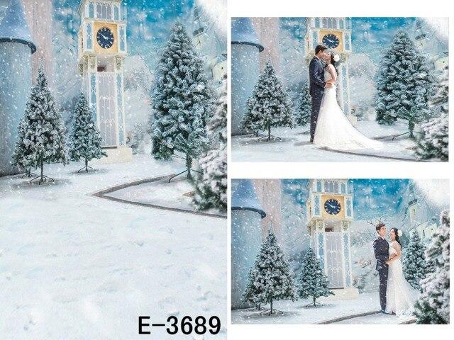 Thin Vinyl Photography Background Computer Printed: Thin Vinyl Printed Christmas Backdrop Shining Snowflake