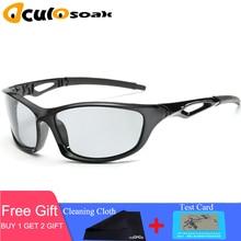 New Driving Polarized Photochromic Sunglasses Men Chameleon Glasses Women Driver Goggles oculos de sol hombre