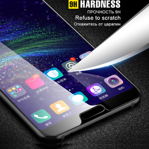 Image 5 - Screen Tempered Glass on the For Huawei Honor 10 8x Max Protective Glass Cover For Huawei Honor 7a 8x 8 9 Lite Protector Glass