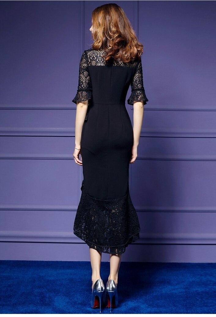 Comprar ahora 2018 diseñadores de moda de la pista vestido de ...