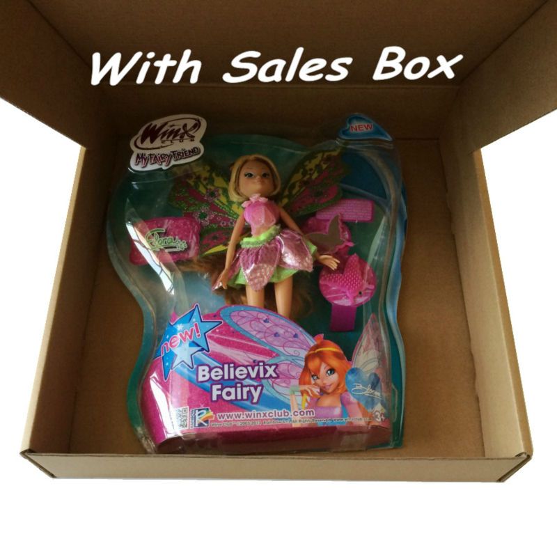 Free Shipping Winx Club 11.5\'\' Deluxe Fashion Winx Doll Believix ...