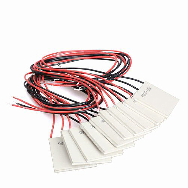 10Pcs TEC1-12706 Thermoelectric Cooler Heat Sink Cooling Peltier 12V 5.8A synthetic graphite cooling film paste 300mm 300mm 0 025mm high thermal conductivity heat sink flat cpu phone led memory router