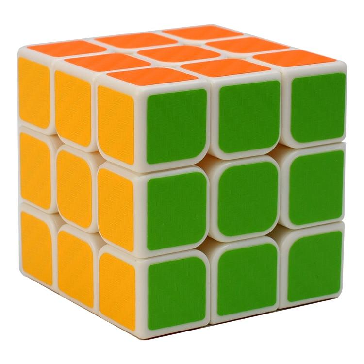 3 * 3 * 3 Karbon Fiber Sticker El Spinner Neo Küpler Hız Oyunu - Oyunlar ve Bulmacalar - Fotoğraf 1