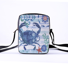 CROWDALE Women Crossbody Bags Marine life tortoise Printing for Kids Girls Casual Mini Female Child Messenger Bolsos Mujer