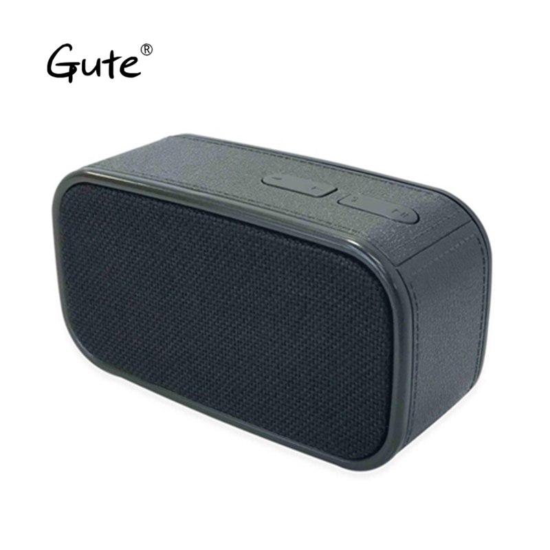 Gute popular arte Tecido de rádio sem fio Bluetooth speaker portátil quadrado lidar com woofer caixa de som alto falante altavoz s5 var
