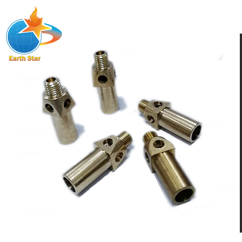 5 PCS Brass Cast Iron Jet Burner LPG / NG Gas Nozzle Cooking Stove Nozzles mig mag burner gas burner gas linternas wp 17 sr 17 tig welding torch complete 17feet 5meter soldering iron air cooled 150amp