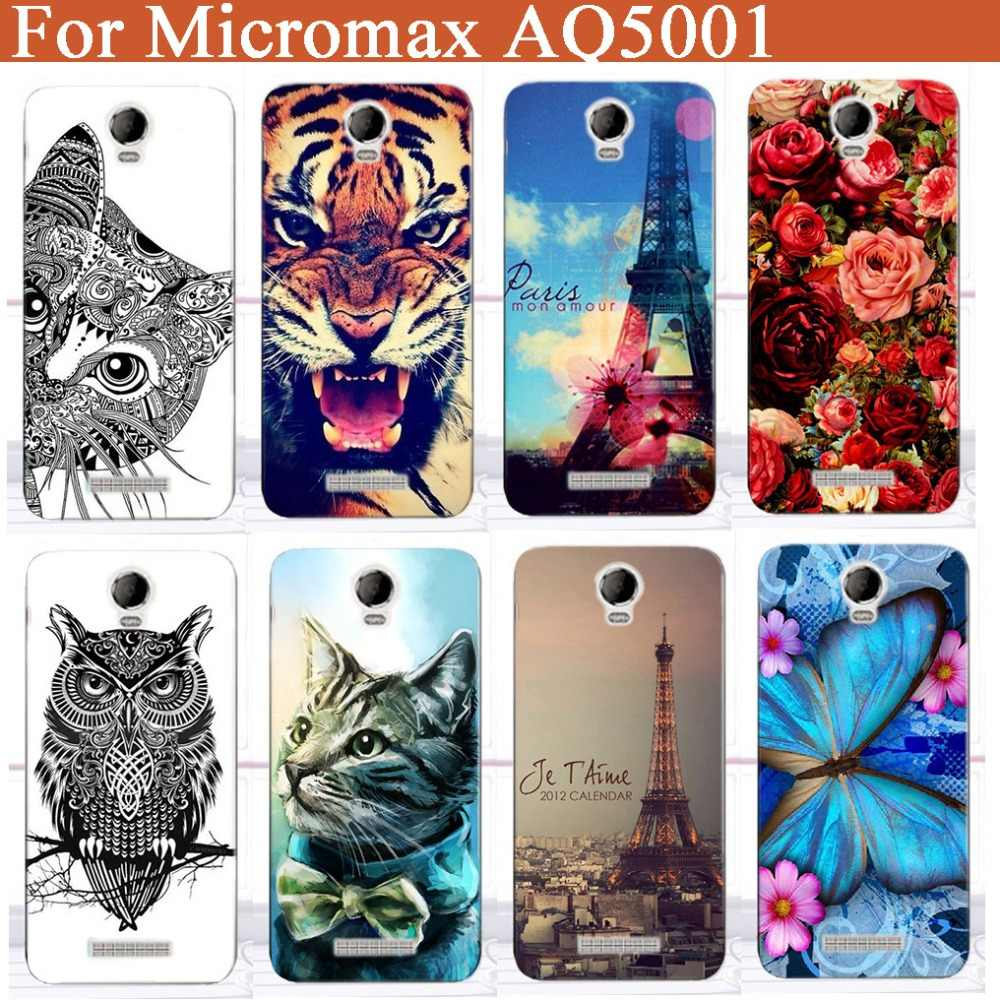 Original COOL Painted case For Micromax AQ5001 aq5001 New Popular Best Brilliant Quality Eiffel Tower rose Flowers case cover