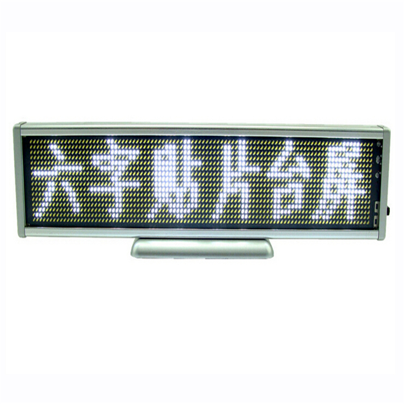 ФОТО 1pcs 16X96 Pixel White LED Name Badge LED Display Scrolling Screen Business Card Tag Display Sign Free Shipping