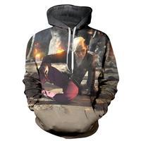 2017 NEW FASHION MEN WOMEN Assassin Crazy Death HOODIE 3D Hoodie Sweatshirts Pullovers Autumn Tracksuit Winter