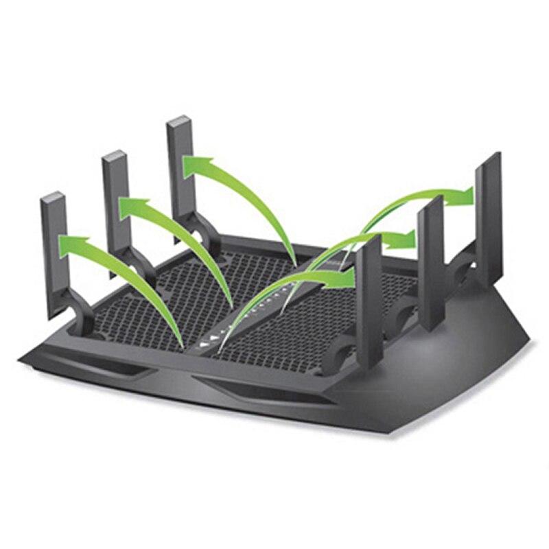 NETGEAR R8000 Nighthawk X6 Tri Band Gigabit WiFi Router AC3200(600M+