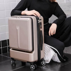 """Image 3 - Travel tale Can board front computer bag High quality business 20""""  24""""Rolling Luggage Spinner brand Travel Suitcase"""