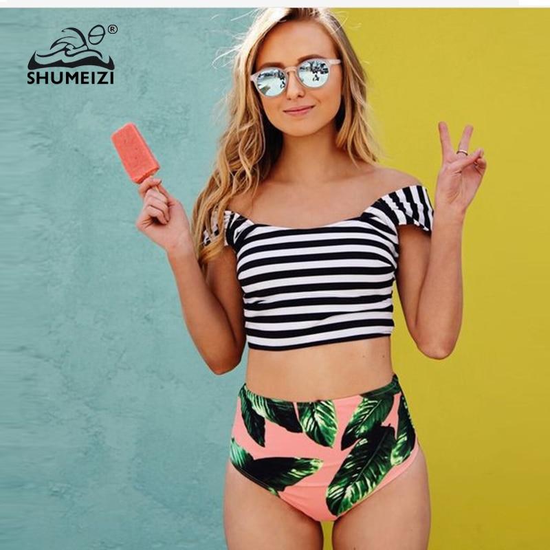 SHUMEIZI Bikini 2019 Costume de baie pentru femei Costum de baie cu - Imbracaminte sport si accesorii