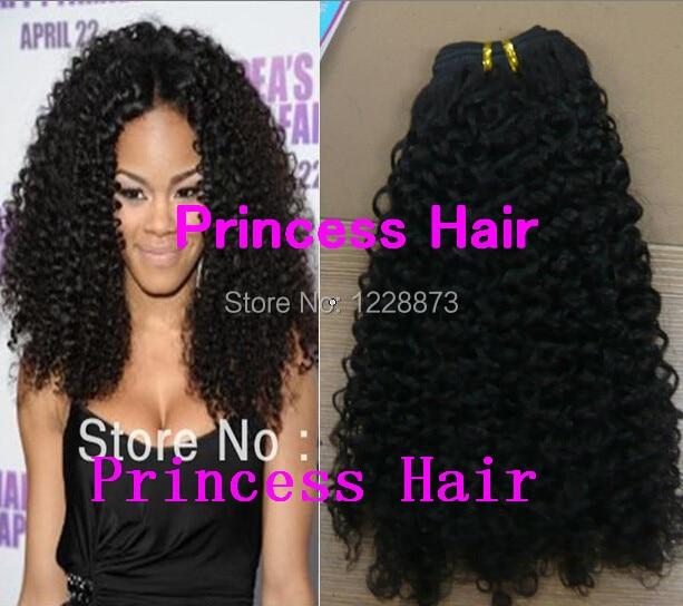 Princess Hair 6a Quality Virgin Brazilian Hair Kinky Curly Hair