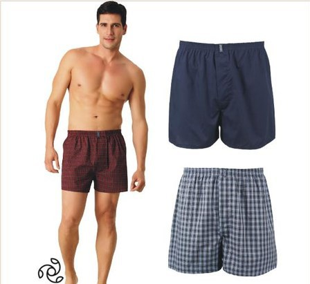 4Pcs Lot Hot Sale 100% Cotton Boxer Shorts Men Boxer Cueca Boxer Men s  Underpants c01b7080908e