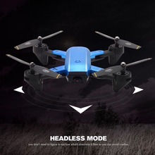 RC Drone Foldable Quadcopter with 720P HD Wifi FPV Camera Optical Flow Positioning Altitude Hold Headless Mode