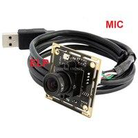 10pcs/lot 2Megapixel 1920*1080 H.264 30fps 2.1mm lens Mini Digital video Endoscope Inspection wide angle usb camera board 1080P