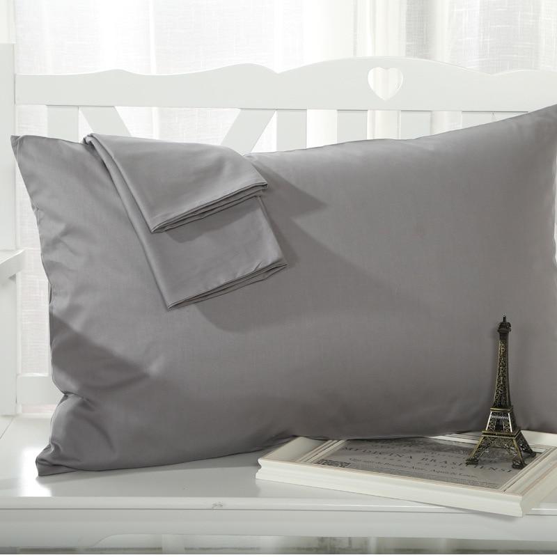 Kekegentleman 1 Pair 45*72cm Solid Pillowcase, Pillow Cover, Pillow Case, Color Optional 16 Colors