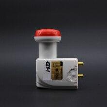 De alta Ganancia de Poco Ruido LNB Circular Figura de Ruido de $ number db de Entrada de frecuencia 11.7-12.75 Ghz Premium Doble LNB