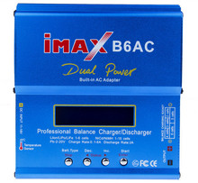 Newest iMAX B6 AC B6AC Lipo NiMH 3S RC Battery Balance Charger with B6AC EU / US Universal Power Cord Power Cable