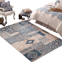 Carpet Living Room Simple Modern Machinable American Country Restaurant Table Covering Bedside Bedroom Rug