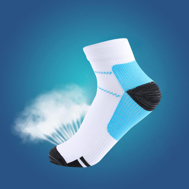 1 Pair High Quality Foot Compression Socks For Plantar Fasciitis Heel Spurs Arch Pain Comfortable Socks Venous New Socks