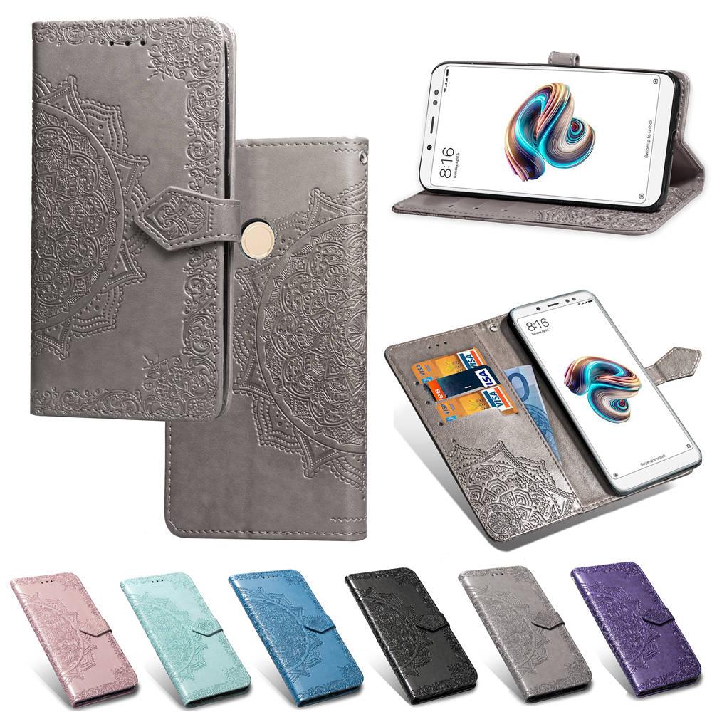 """xiaomi redmi note 5 case global version 5.99"""" flip wallet leather case for redmi note 5 pro cover xiaomi redmi note5 pro case"""