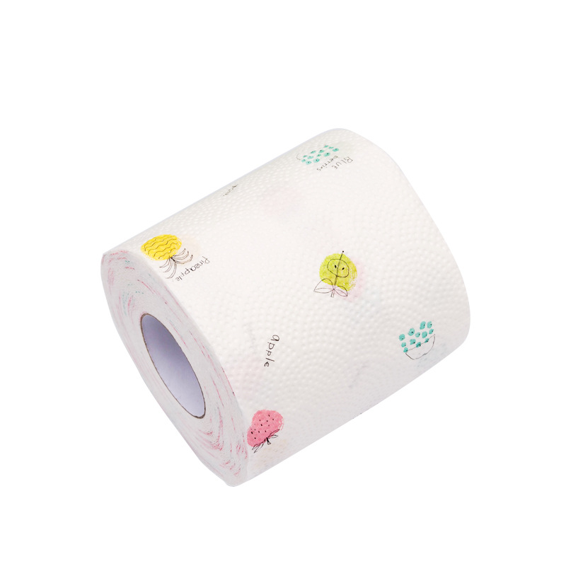 12 Roll 3 Ply Fruit Printed WC Bath Funny Toilet Paper Tissue Bathroom Products  Rolling Paper Islamabad