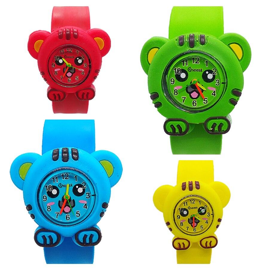 High Quality Child Watch Forest King Tiger Kids Watch Children Girls Boys Students Clock Quartz Wristwatches Relogio Kol Saati