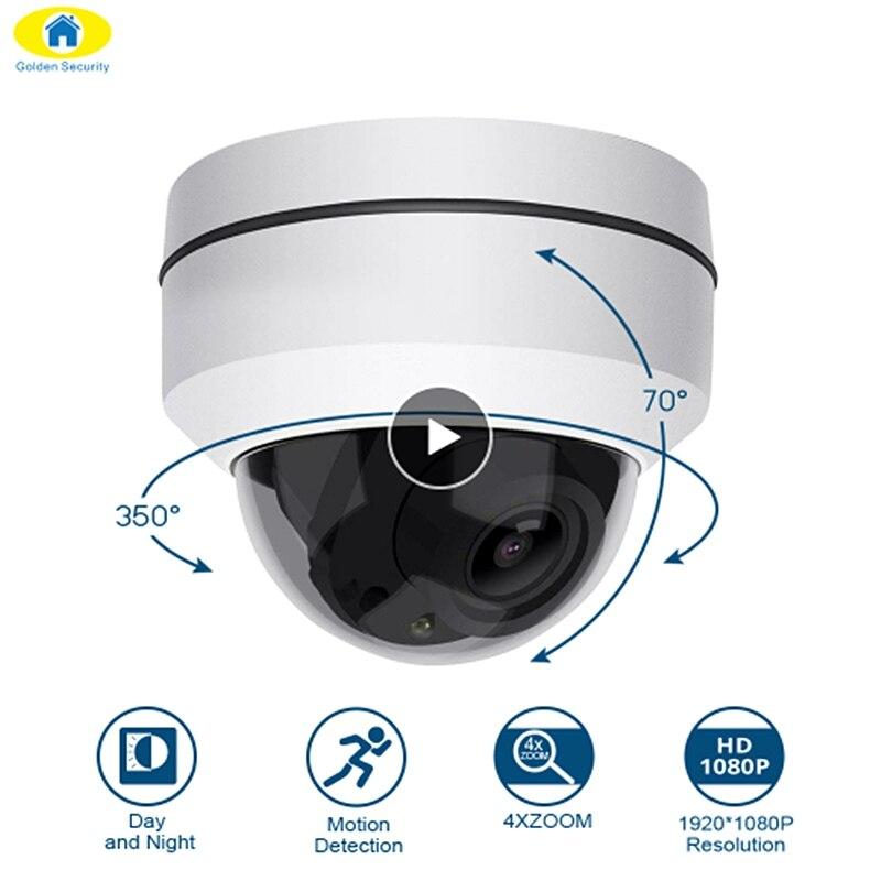 Wireless 4X Zoom Lens PTZ IP Camera HD 1080P Indoor Dome Camera 2.8~8mm Auto-Focus 2MP 50M IR Night Vision Security CameraWireless 4X Zoom Lens PTZ IP Camera HD 1080P Indoor Dome Camera 2.8~8mm Auto-Focus 2MP 50M IR Night Vision Security Camera