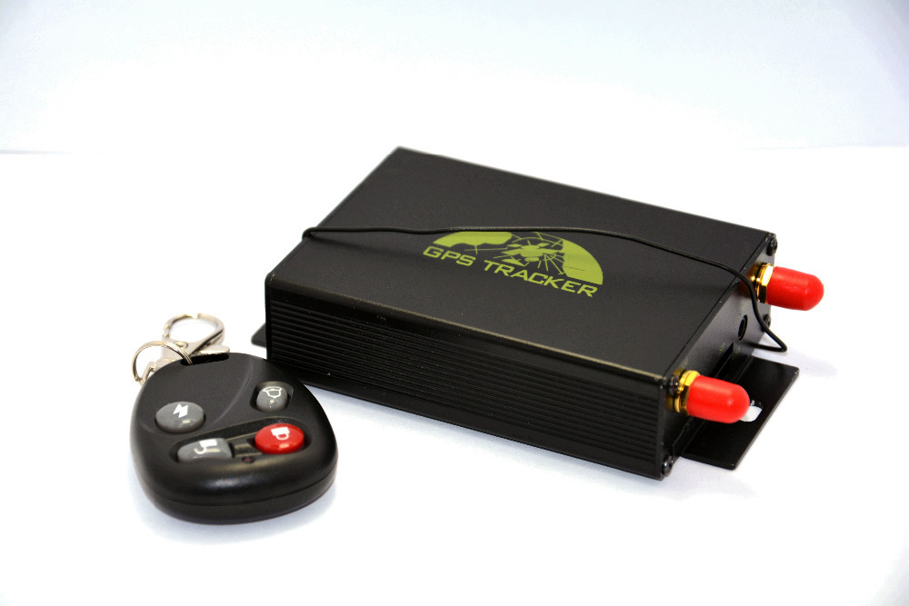 Lexitek TK105B gps tracker with remote controler detect Temperature Central locking