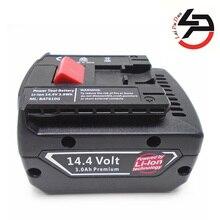 Brand new 14.4v 3.0Ah Li-Ion Replacement power tool battery for Bosch: BAT607,2607336318,BAT614,BAT607G,GSR14.4-Li,BAT614G