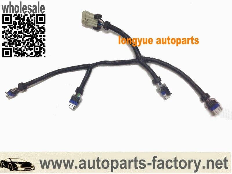 longyue 2pcs Ignition Coil Harness LQ9 LQ4 LSX LS2 LS7 AC Delco D585 D581 truck pack