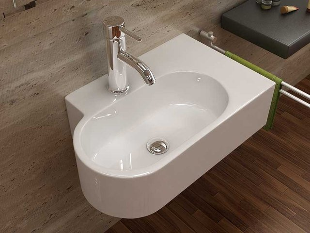 Gentil Modern Design Sink Sanitary Ware Basin Bathroom Wash Basin