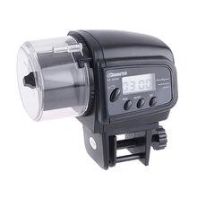 Прочный цифровой автоматической Корм для аквариумных рыбок контейнер аквариум подачи диспенсер таймер