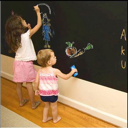 Two sizes Chalk Board Blackboard Stickers Removable Vinyl Drs