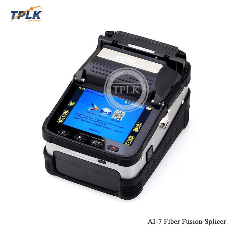 AI-7C сварочный аппарат SM/MM автоматический FTTH для сварочного аппарата для оптоволоконной сварки - Цвет: AI-7C