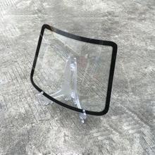 30.5*24cm Tesla Model Rear Windscreen Windshield Glass Display For Window Foil Displaying 10 Pcs/lot MO-B4