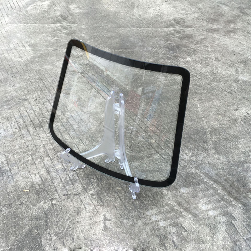 Latest 30.5*24cm Car Window Film Display Model Windscreen Windshield Glass For Window Foil Displaying 10 Pcs/lot MX B4