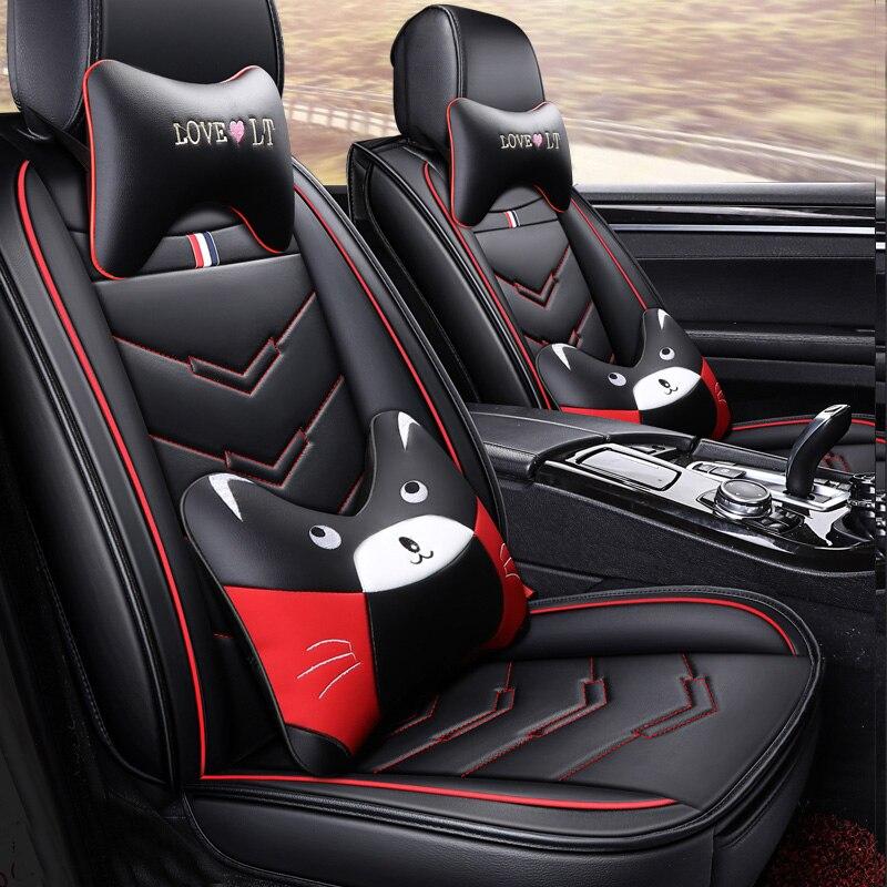 Auto-Seat-Covers Car-Accessory Edge-Explorer Ford Mondeo Focus-2 Cartoon Fiesta Fusion