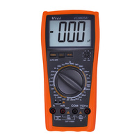 VC9805A+ Digital Multimeter DMM LCR Meter Temperature Inductance Capacitance Frequency & hFE Test full protection measure